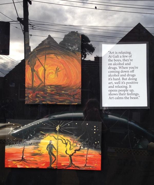 'The Creator: The beginning' & 'The Creator: Admiring his work' by Mark Hammersley